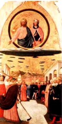 Jesús y un ejército de naves